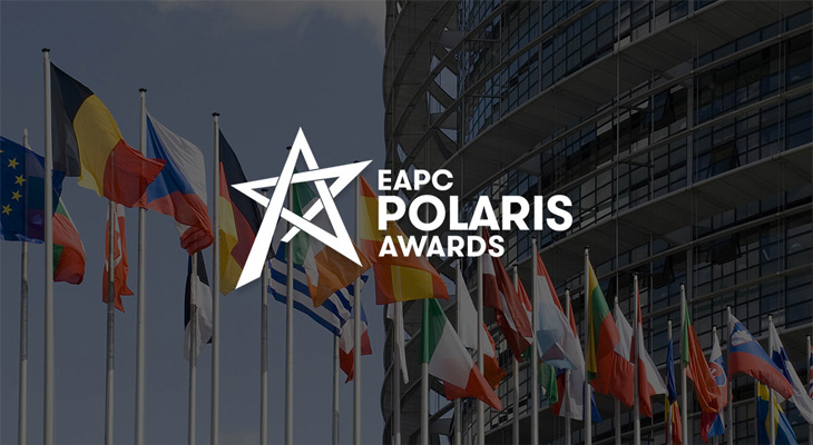 Bayraklar ve eapc polaris awards logosu