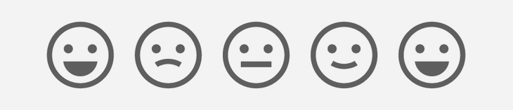 smiling face icons