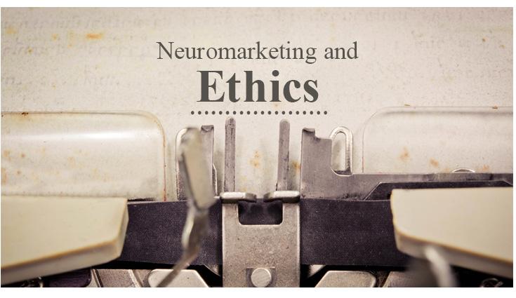 daktilo, eski kağıda nöropazarlama ve etik hakkında yazıyor