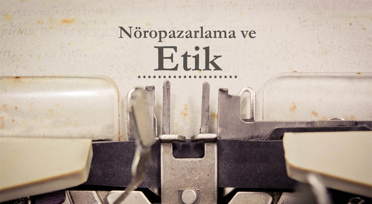 typewriter, writing neuromarketing and ethics