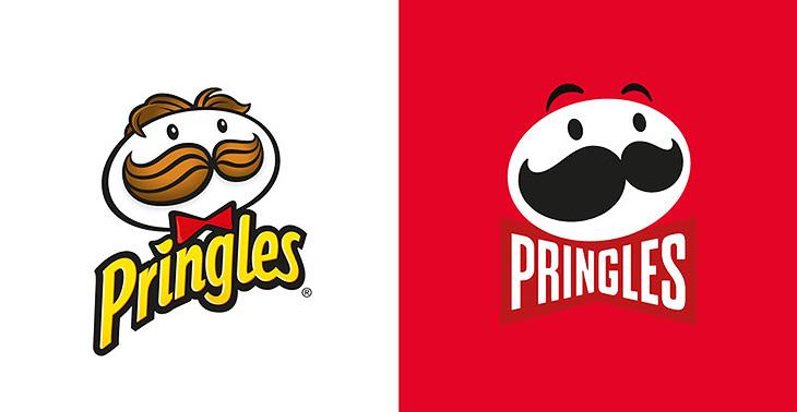 Pringles Logo Değişimi, Eski ve Yeni Logo Karşılaştırma