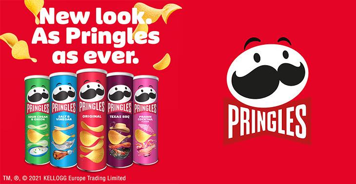 Pringles Yeni Logo ve Ambalajları