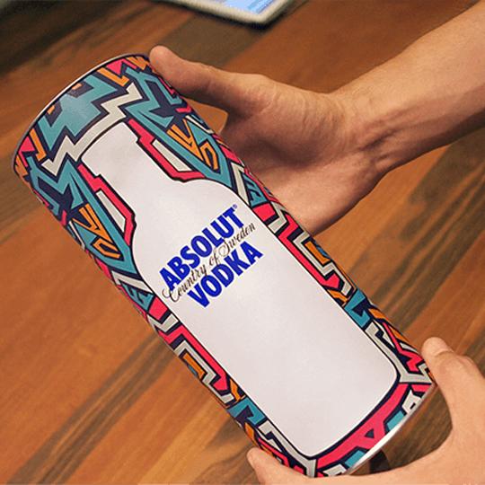 Absolut özel kutu tasarımı