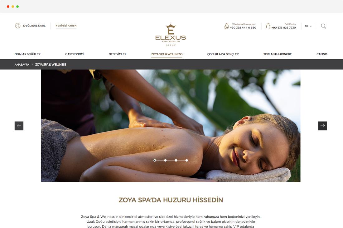 elexus hotel zoya spa