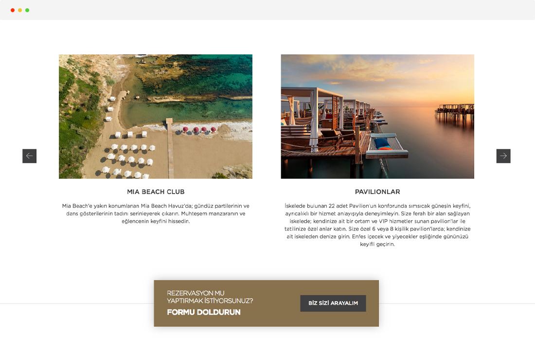 elexus hotel beach club pavilionlar