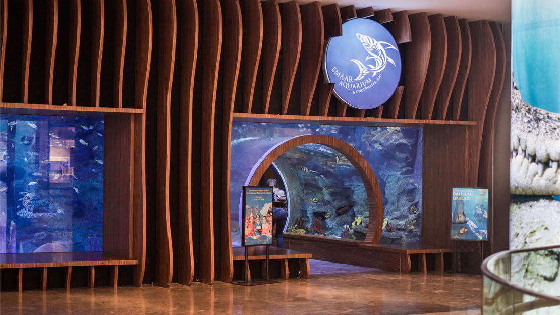 emaar aquarium entrance