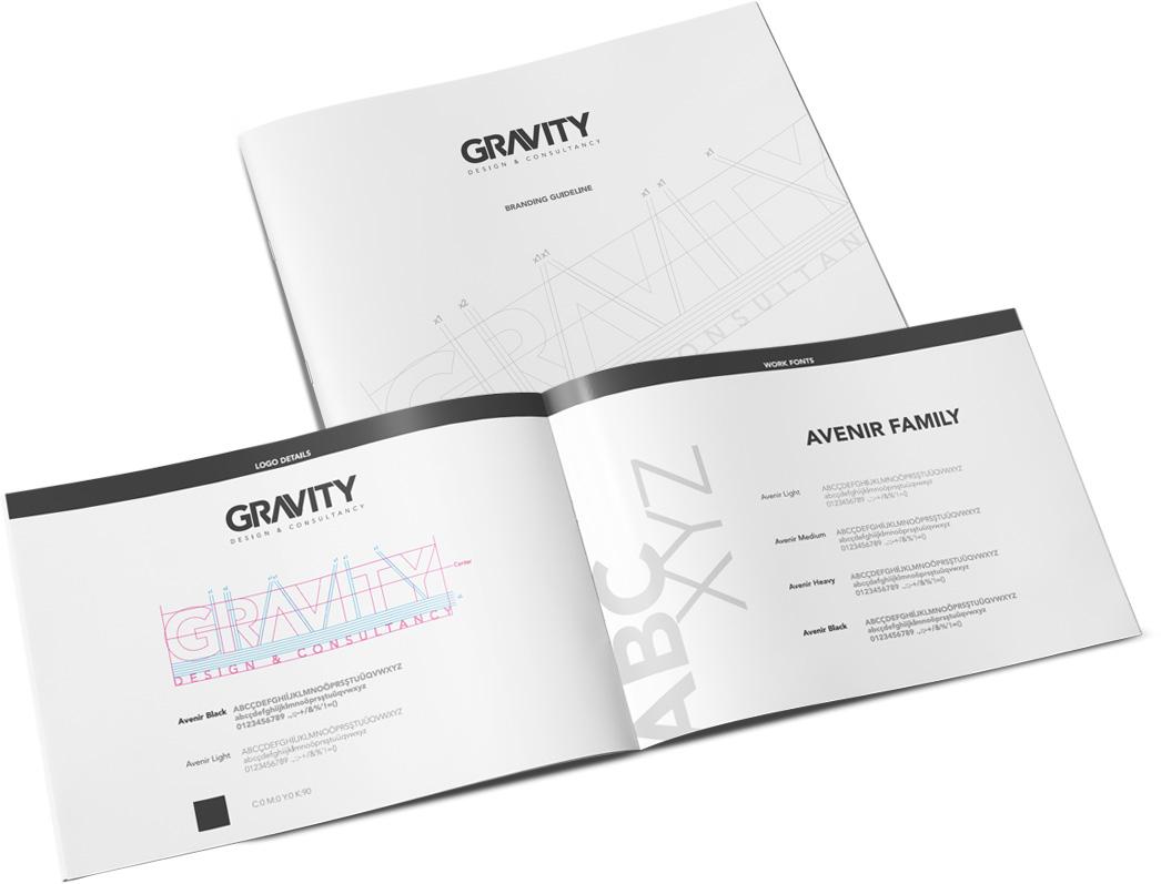 gravity mimarlık kurumsal kimlik tasarımı
