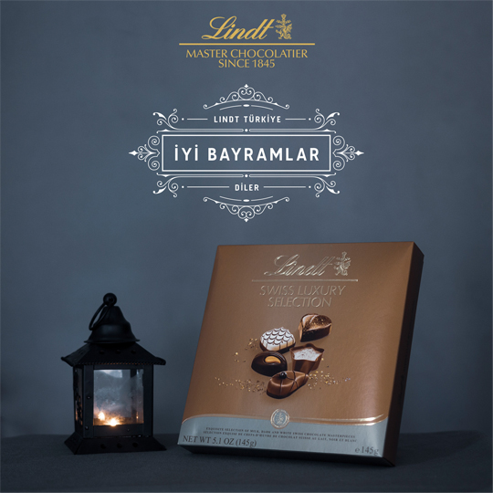 lindt social media post design