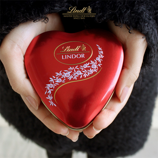 lindor valentine's day creative social media post